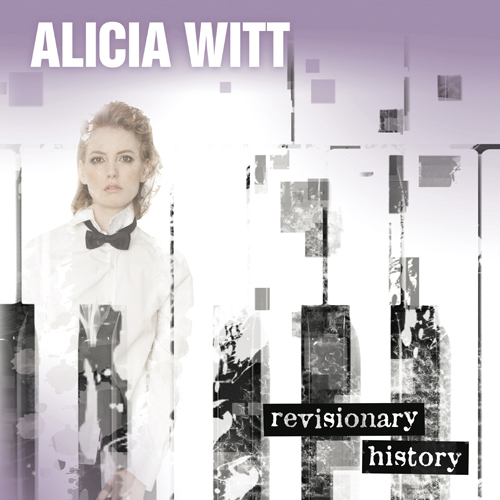 Alicia Witt Revisionary History CD jacket cover design