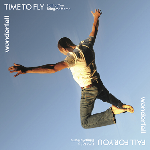 Wonderfall Time to Fly single cover design