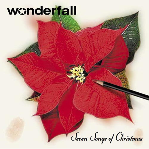 Wonderfall Seven Songs of Christmas CD cover design