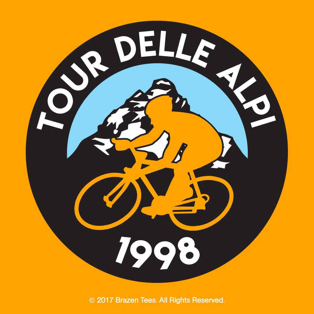 Tour delle Alpi t-shirt design