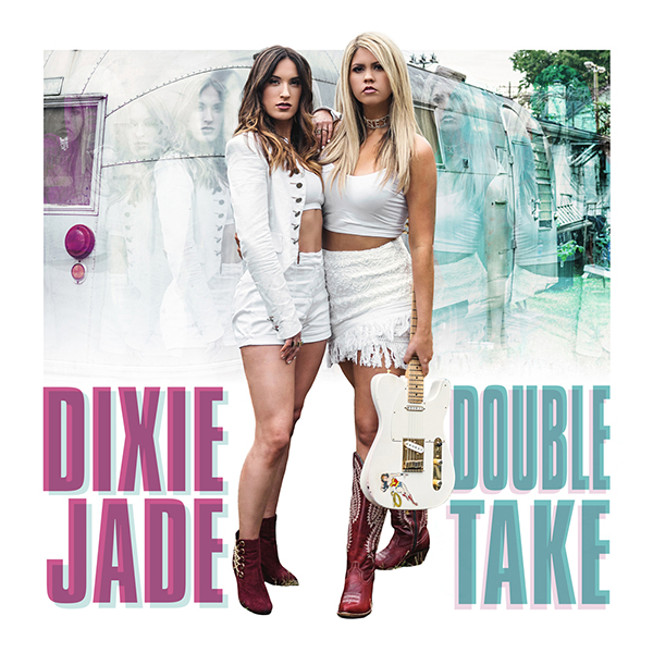Dixie Jade Double Take CD jacket design
